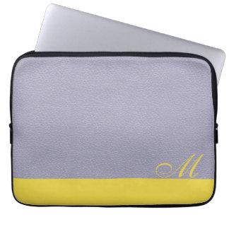 Lavender Lemon Laptop Bag