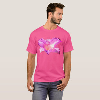 Lavender Lily on Wow Pink Shirt Plus Sizes 6x