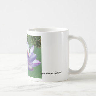 Lavender Lotus at Kenilworth Aquatic Gardens Classic White Coffee Mug