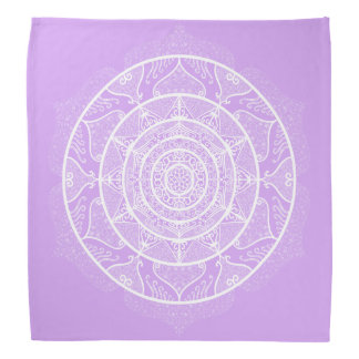 Lavender Mandala Bandana