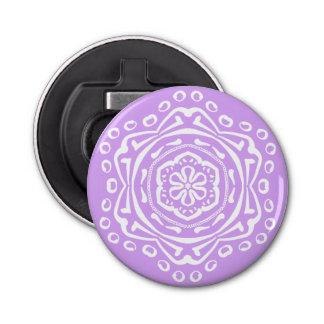 Lavender Mandala Bottle Opener