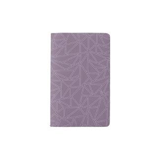 Lavender Maze#3 Pocket Moleskine Notebook