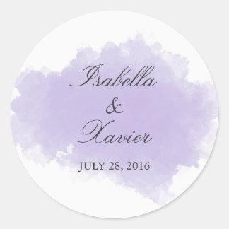 Lavender Mist | Wedding Favor Sticker
