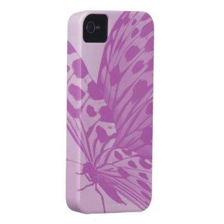 Lavender Monarch Butterfly BlackBerry Case