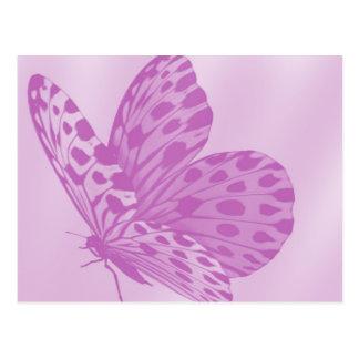 Lavender Monarch Butterfly Postcard