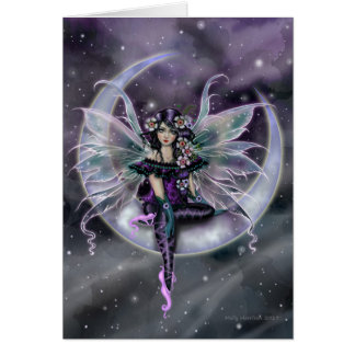 Lavender Moon Fairy Fantasy Art by Molly Harrison Card