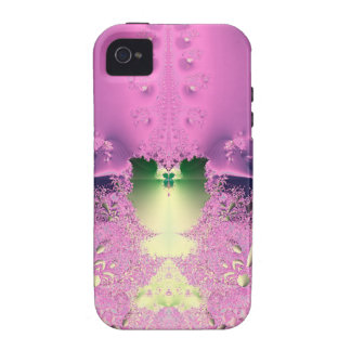 Lavender Night Garden Collection Case-Mate iPhone 4 Cases