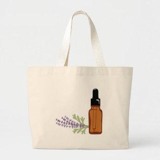 Lavender Oil Large Tote Bag