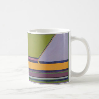 Lavender & Orange Coffee Mug