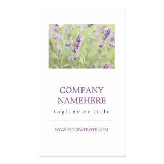 Lavender Pack Of Standard Business Cards