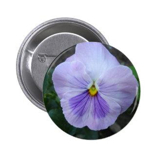 Lavender Pansy Button