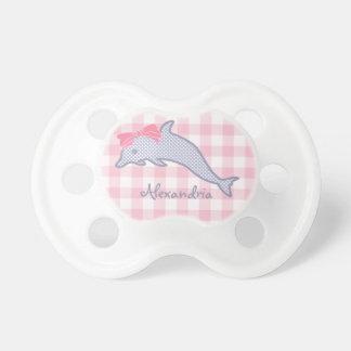 Lavender Polka-Dot Dolphin Dummy