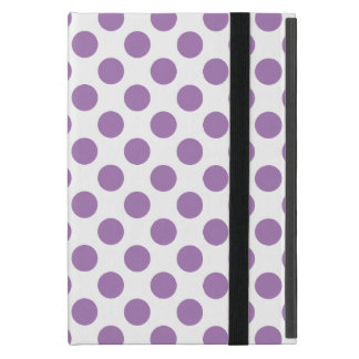 Lavender Polka Dots Case For iPad Mini
