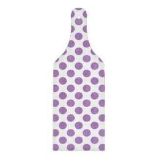 Lavender Polka Dots Cutting Board