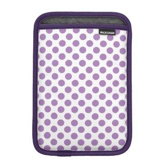 Lavender Polka Dots iPad Mini Sleeve