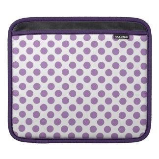 Lavender Polka Dots iPad Sleeve