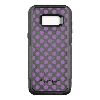 Lavender Polka Dots OtterBox Commuter Samsung Galaxy S8+ Case