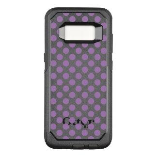 Lavender Polka Dots OtterBox Commuter Samsung Galaxy S8 Case