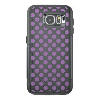Lavender Polka Dots OtterBox Samsung Galaxy S6 Case