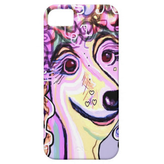 Lavender Poodle Barely There iPhone 5 Case
