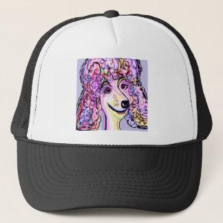 Lavender Poodle Trucker Hat