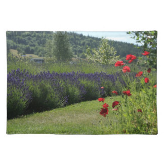 Lavender & Poppies American MoJo Placemat