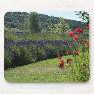 Lavender & Poppies Mousepad