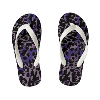 Lavender Purple Cheetah Abstract Thongs