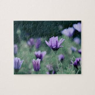 Lavender Purple Flowers Jigsaw Puzzle