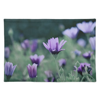 Lavender Purple Flowers Placemat