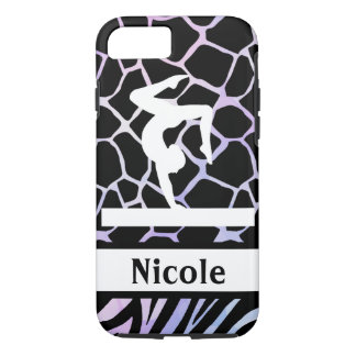 Lavender Purple Gymnastics Cell Phone Case