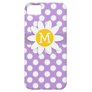 Lavender Purple Polka Dots iPhone 5 Cover