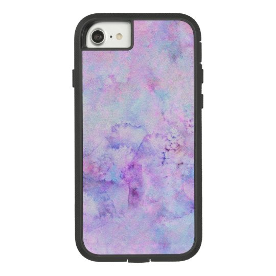 Lavender Purple Watercolor Paint Splotch Texture Case-Mate Tough Extreme iPhone 8/7 Case