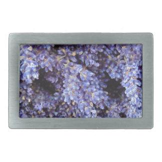 Lavender Rectangular Belt Buckles