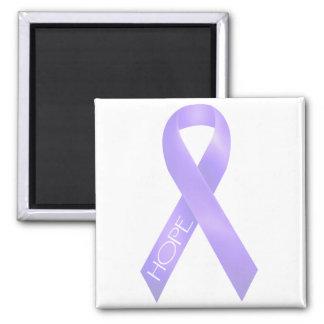 Lavender Ribbon Fridge Magnets