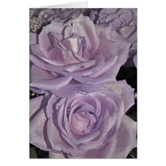 Lavender Roses Card
