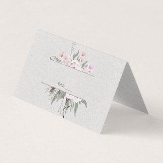Lavender Sage Green Floral Place Cards  