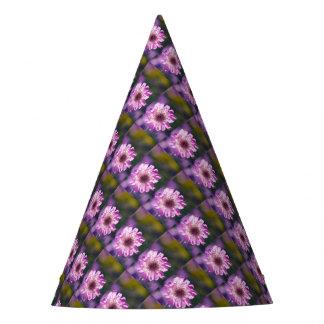 Lavender Scabiosa Flower Party Hat