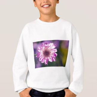 Lavender Scabiosa Flower Sweatshirt