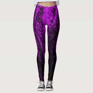 Lavender Spiral2 - Leggings