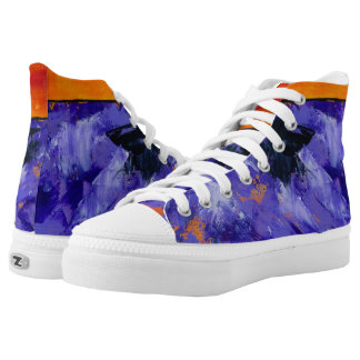 Lavender Splash Sneakers