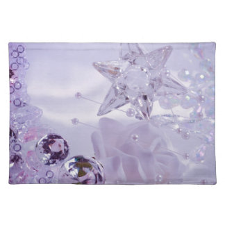 """Lavender Star and Crystals"" collection Placemat"