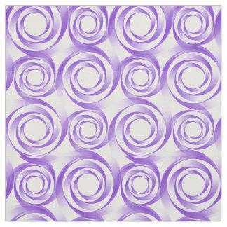 Lavender Swirl Vortex Fabric