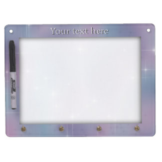 Lavender Teal Mauve Sparkle Dry Erase Whiteboards