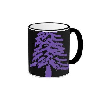 Lavender Tree Doodle V4.0 Mugs
