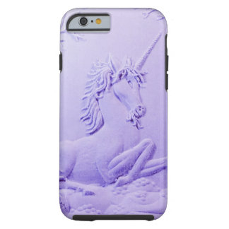 Lavender Unicorn in Forest Glade by Sharles Tough iPhone 6 Case