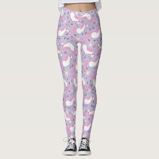 Lavender Unicorn leggings