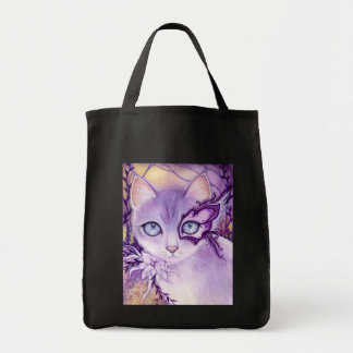 Lavender Venice Night - Tote Bag