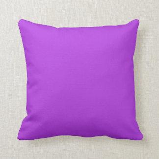 Lavender violet plain luxury cushion pillow