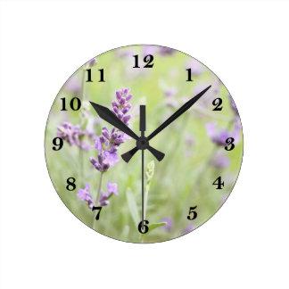 Lavender Wall Clocks